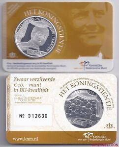 NEDERLAND-10-EURO-2013-034-HET-KONINGSTIENTJE-034-BU-KWALITEIT-IN-COINCARD
