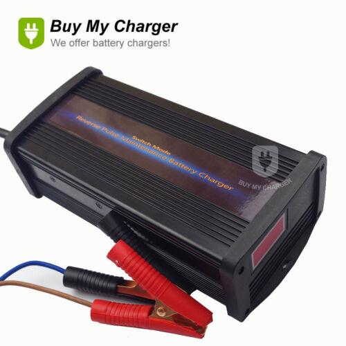 24V Volt 300Ah 30A Lead Acid Battery Charger Reverse Pulse Chargring Desulfator