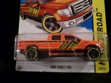 HW HOT WHEELS 2014 HW OFF-ROAD #137/250 2009 FORD F150 PICK UP HOTWHEELS ORANGE