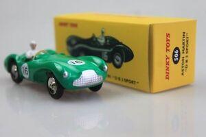 Atlas-1-43-R-valor-506-Aston-Martin-D-B3-Deporte-Dinky-Toys-Die-Casting