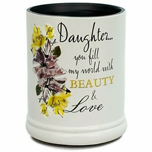Daughter-Beauty-amp-Love-Ceramic-Stoneware-Electric-Large-Jar-Candle-Warmer