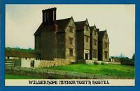 YHA Youth Hostels Association Postcard - Wilderhope Manor Hostel: Shropshire 70s