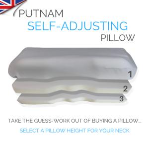 Self Adjusting Pillow Orthopedic