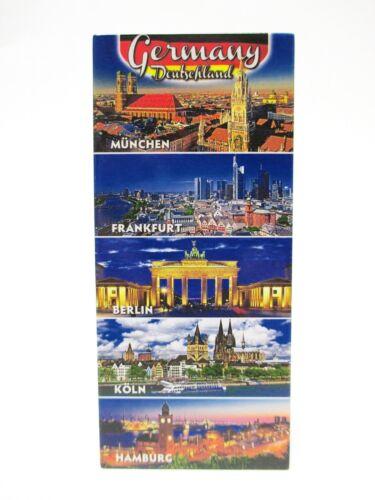 Köln München Frankfurt Berlin ..Fridge Foto Magnet,Germany Deutschland