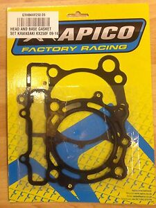 KAWASAKI KXF250 KXF 250 KX250F 2009-2014 APICO TOP END GASKET SET