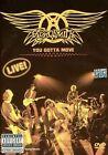 You Gotta Move [DVD/CD] by Aerosmith (DVD, Nov-2004, 2 Discs, Sony Music)