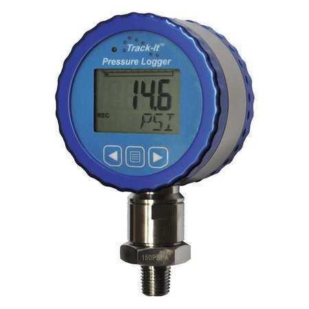 MONARCH 5396-0371 Data Logger,Pressure//Temp,0 to 150 psig