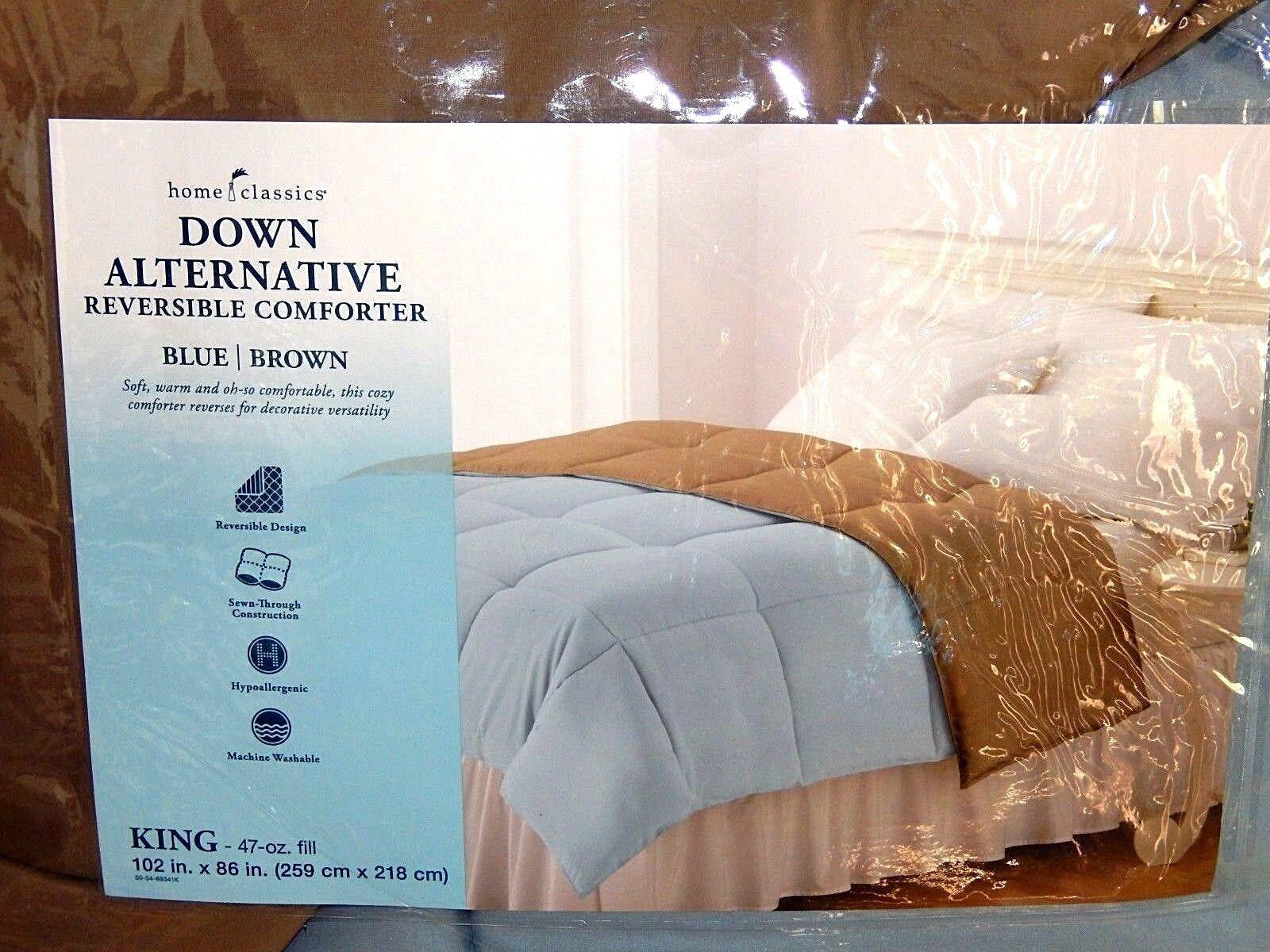 Home Comfort Down Alternative Comforter-King, NWT  140-WOW Bargain