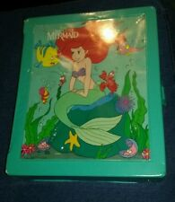 Walt Disneys Little Mermaid Doll Clothes carrying Case barbie size 1991 tyco toy
