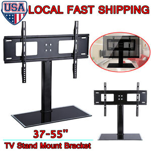 Universal-LED-LCD-Flat-Screen-TV-Table-Bracket-With-Stand-Base-For-37-034-55-034-TV-US