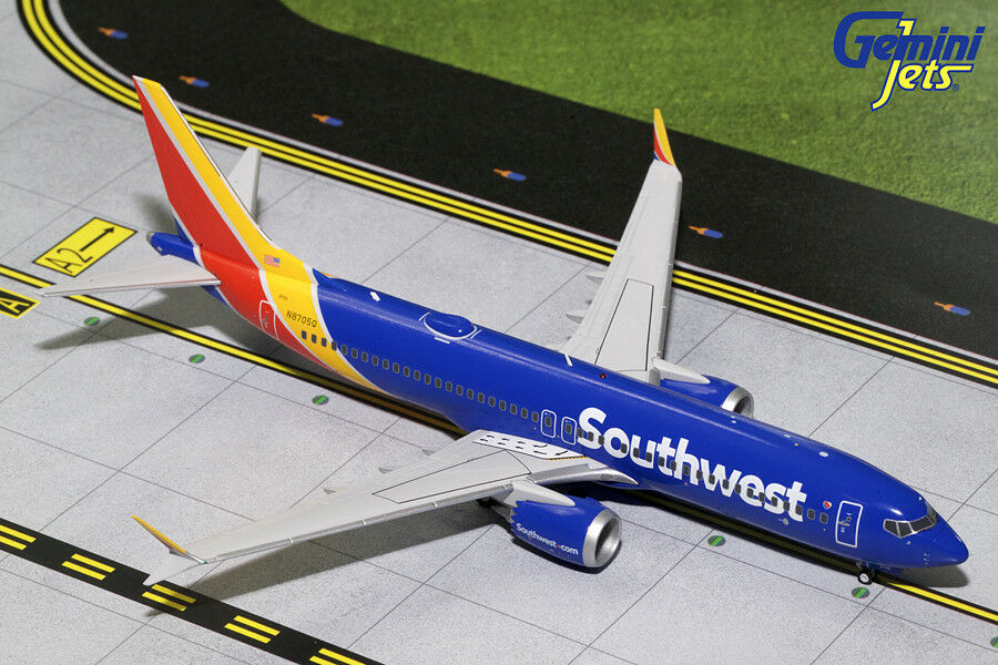 GEMINI JETS SOUTHWEST AIRLINES BOEING 737 MAX 8 8 1 200 MODEL G2SWA689 IN STOCK