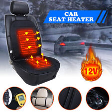 Heated Car Seat Heater Chair Cushion Warmer Cover 12V Pad for Winter Drive Warm