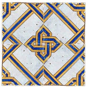 Piastrelle maiolica antiche originali napoletane siciliane - Piastrelle siciliane antiche ...