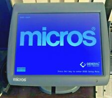 Micros Workstation 5 Pos Ws5 Terminal 400814 101 Touch Screen Nostand