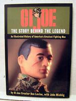 Gi Joe-the Story Behind Legend Hardcover Book W Dust Jacket- Marine Cover(m5341)