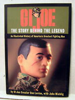 Gi Joe-the Story Behind Legend Hardcover Book W Dust Jacket- Marine Cover(m5341)