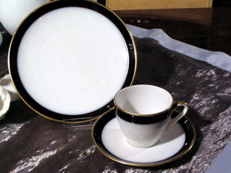 Edles Kaffeeservice Hutschenreuther Arzberg Olivia Kobalt Kobalt Kobalt Gold 3444  | Qualität und Verbraucher an erster Stelle  4ea0e0