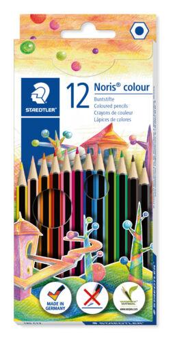 Stae... Kartonetui mit 12 sortierten Farben Farbstift @Staedtler Noris® colour