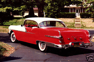40 Mil Refrigerator Magnet 1956 Pontiac Star Chief Coupe