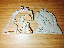Alice in Wonderland disney Plastic Cookie Cutter Fondant Cake Decorating Cupcake