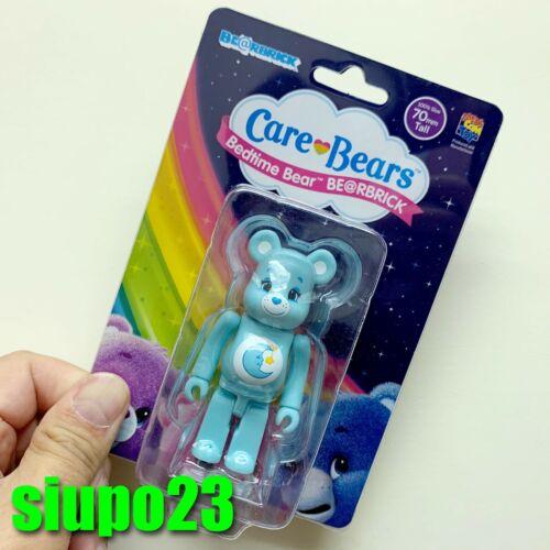 Medicom 100/% Bearbrick ~ Care Bears Be@rbrick Bedtime Bear