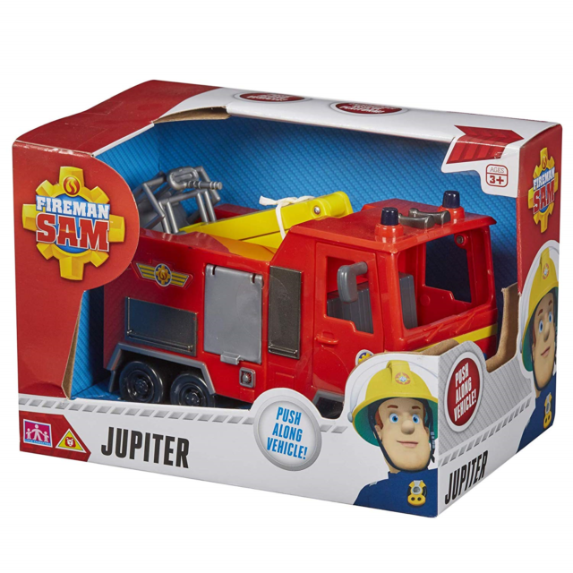 Fireman Sam Toys  Engine Jupiter Helicopter Rescue Vehicle /& Figures Helmet