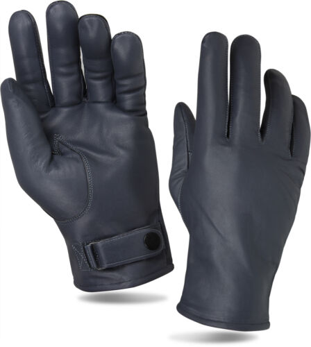 XXL in Schwarz oder Grau Lederhandschuhe Winter Handschuhe Leder BW Art Größe S