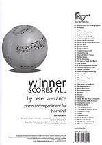 Brillant Winner Scores All Lawrance F Horn Piano Accomps-afficher Le Titre D'origine