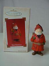 Hallmark Ornament 2003 KRIS KRINGLE NEW Santa Claus Gifts Toys Magic Beard