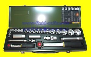 PROXXON-23020-Knarrenkasten-27teilig-mit-2-Knarren-6-3mm-1-4-034-12-5mm-1-2-034
