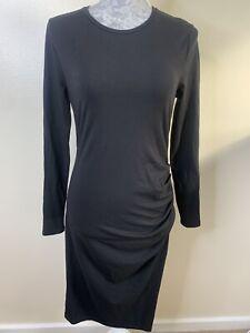 LK-bennett-Simple-Black-Fitted-Pencil-Dress-Uk-12