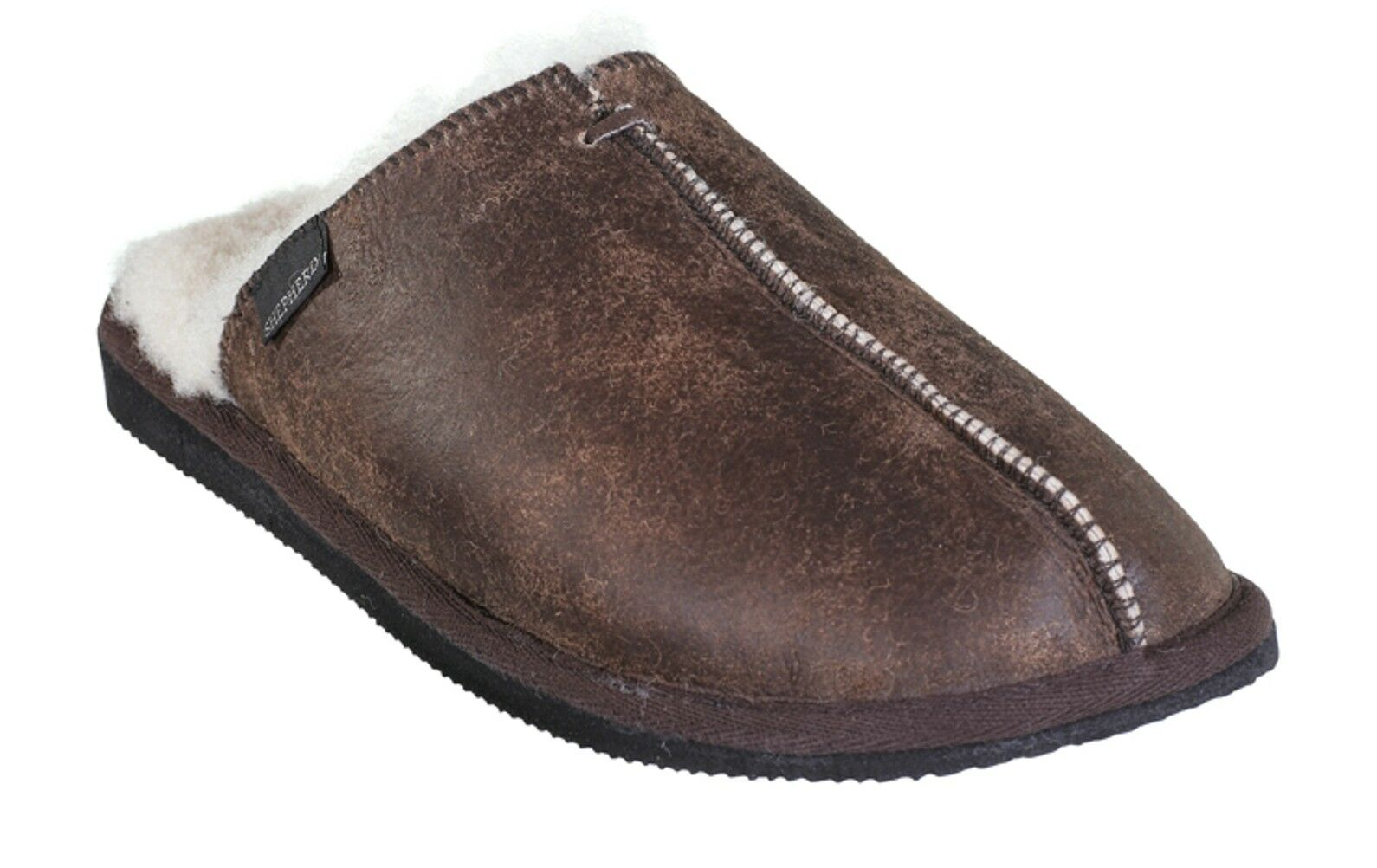 Shepherd Hugo 1201 53 Herren Hausschuhe Pantoffeln Slipper 47 oild Gr. 42 - 47 Slipper Neu 2162b1