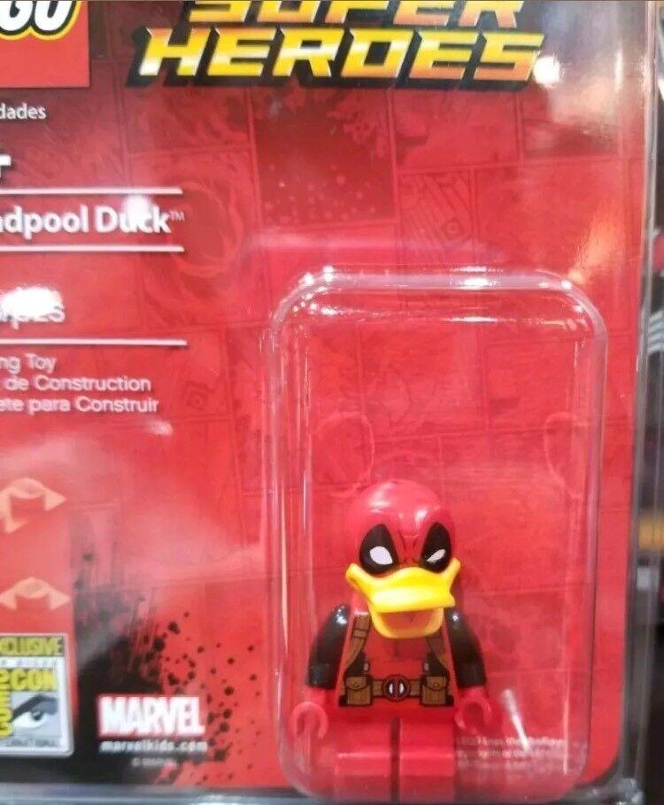 Sdcc 2017 Exclusivo De Lego Minifigura Howard el pato Deadpool