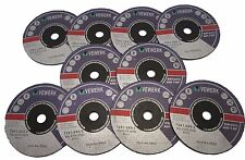 Cutting Disc for Inox 75mm x 1mm x 9.5mm Pack of 10 Vewerk by Bergen  8062