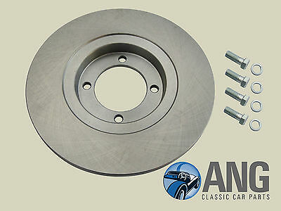 GINETTA G15 EARLY MODEL /'67-/'68 FRONT BRAKE DISC /& FITTING BOLTS GBD154,113150