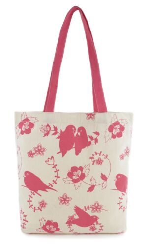 Zest Ladies Cotton Canvas Printed Shopper Bag