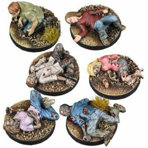 The Walking Dead Prone Figures Booster (English) All Out War Mantic Games Death