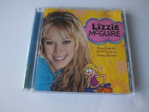 Lizzie Mcguire Music Cd Songs From The Disney Channel Tv Series 2002 50086079179 Ebay