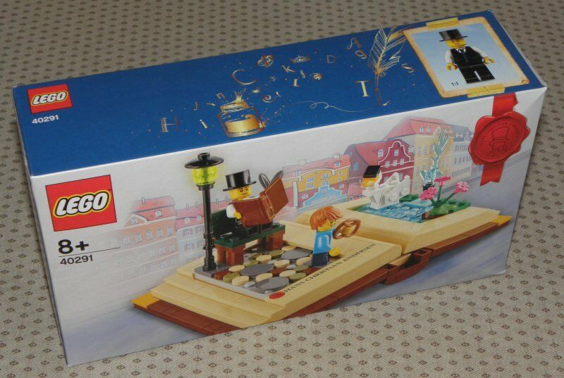 Lego 40291 Kreative Persönlichkeiten - HANS CHRISTIAN ANDERSEN exklusiv rar NEU