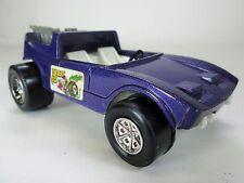 Vintage Tootsie Toy purple Desert Fox, Super Slicks toy car