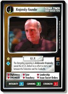 Verzamelingen Star Trek CCG RoA Rules of Acquisition Hagath Losse kaarten spellen