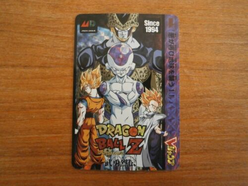 Carte DRAGON BALL Z Sega Mega Drive Fan Card Prism CARDDASS V Jump