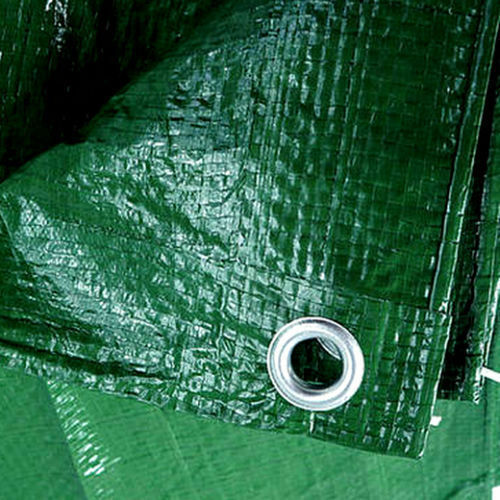 Green Strong Waterproof Tarpaulin Ground Sheet Camping Tarp Cover 100 GSM New