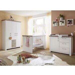 Babyzimmer Erstausstattung Set Kompl Kinderzimmer Baby New York 4tlg