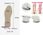 Pronation-Correction-X-O-Type-Bowlegs-Supination-Eva-Leather-Posture-Insoles miniatura 13