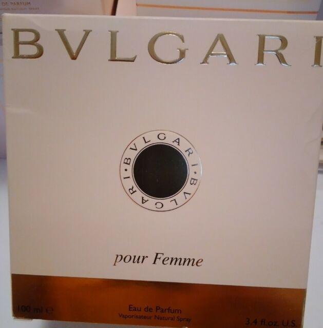 Bvlgari Pour Femme Classic 3.4 oz 100ml Women's Eau de Parfum Spray NIB