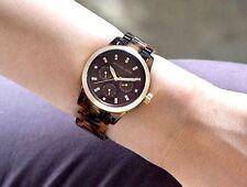 MICHAEL KORS MK5038 RITZ Tortoise Gold Brown Mother of Pearl Dial Women's Watch