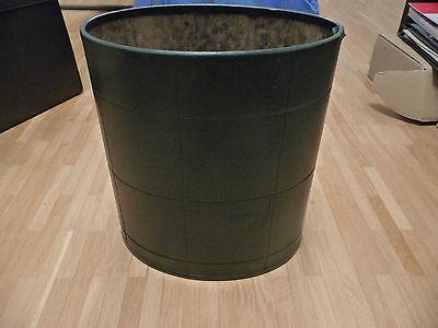 Willensstark Vi Büromöbel Papierkorb Grün Ovale Form Senility VerzöGern Büro & Schreibwaren