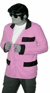 Wear-it-Pink-Breast-Cancer-Awareness-Mens-Baby-Pink-Teddy-Boy-Jacket-Drapes