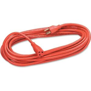 Fellowes 25ft Heavy Duty Indoor/Outdoor Extension Cord